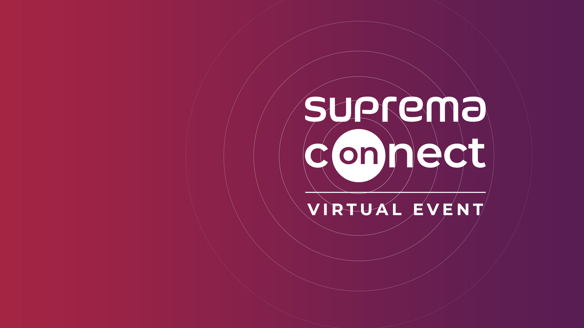 SUPREMA Connect 2020